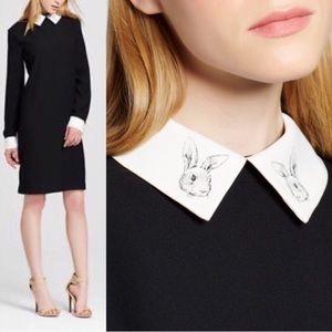 VICTORIA BECKHAM for Target black bunny dress